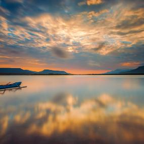 sunrise reflektion by Gus Mang Ming - Landscapes Sunsets & Sunrises