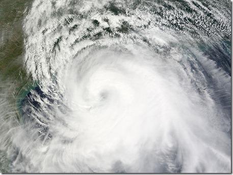 Hurricane Ike Satellite