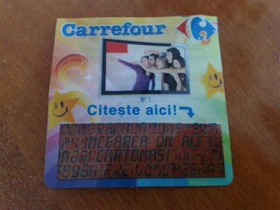 Cartonas Promotie Carrefour