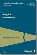 Belgium Health systeme review