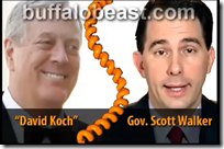 Koch Whore Wisconsin Gov. Scott Walker