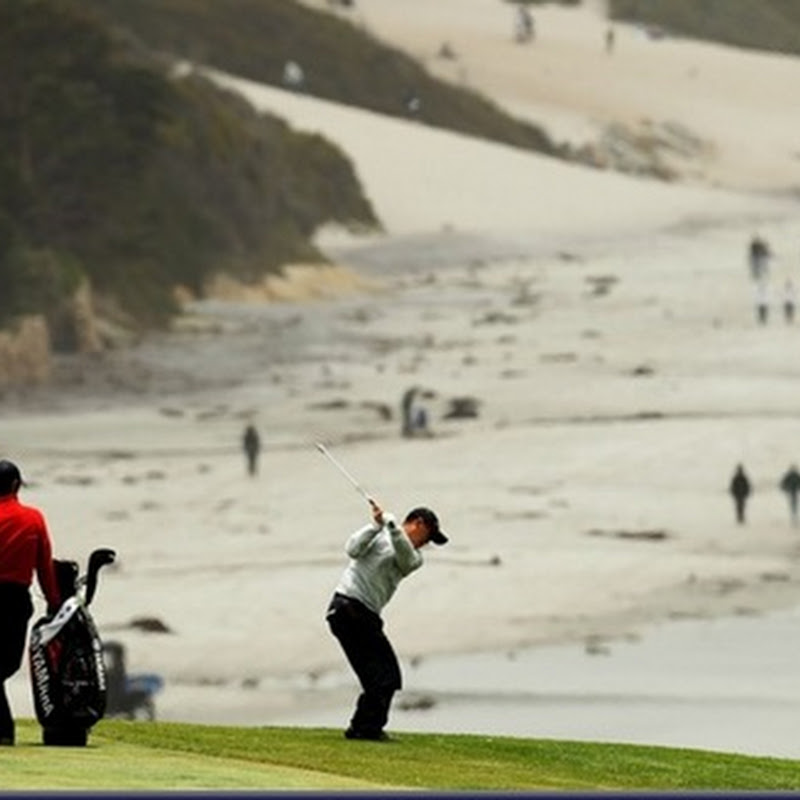 Taniguchi Yellow Card At Pebble