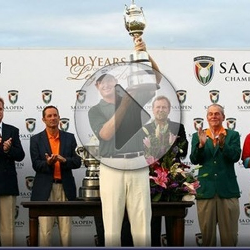 South African Open Championship Final Round Highlights and Leaderboard- 2011 European Tour Golf