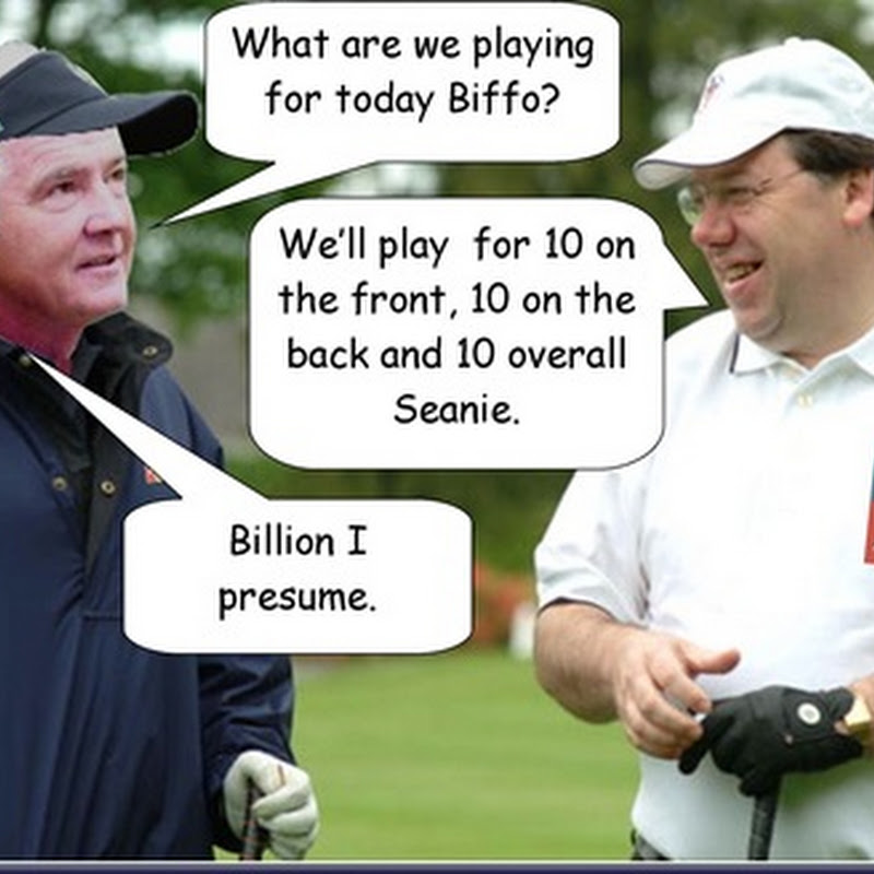 Exclusive! What Brian Cowen Said To Seanie Fitzpatrick On the Golf Course