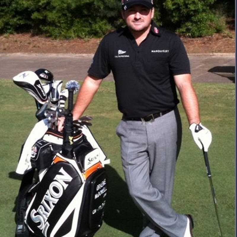 GMac With His New Srixon Bag and Gear