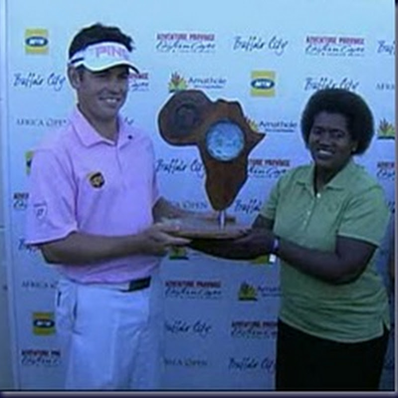 Shrek Does Africa.  Oosthuizen Wins 2011 Africa Open Playoff