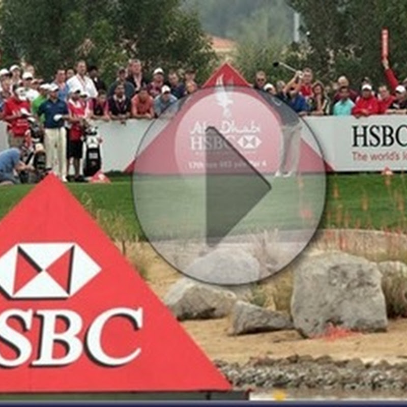 HSBC Abu Dhabi Golf Championship Third Round Highlights