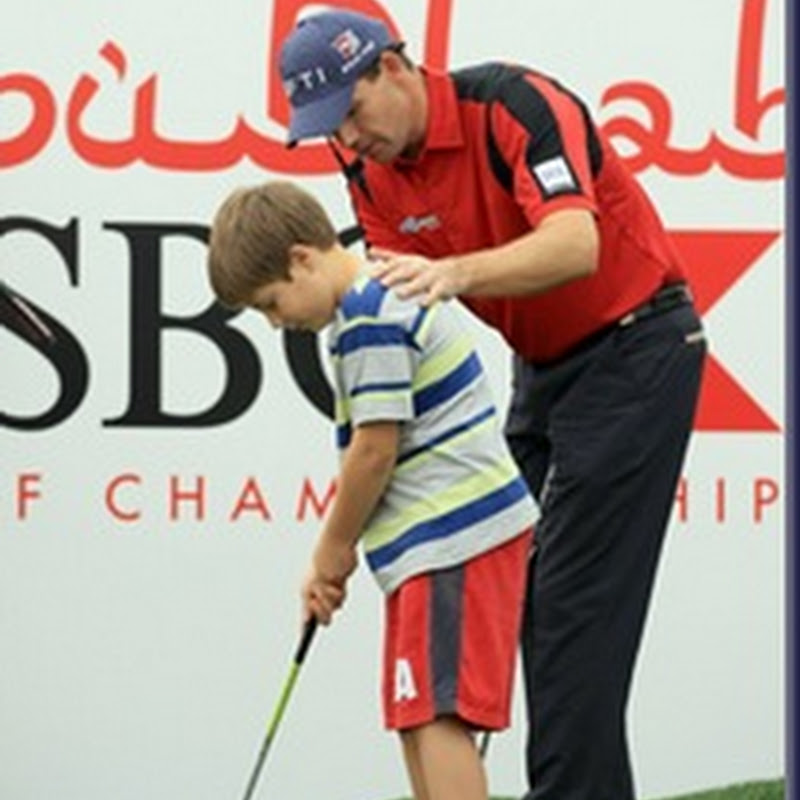 What A Legend! DQ'd Padraig Shows Kids How To Mark Ball