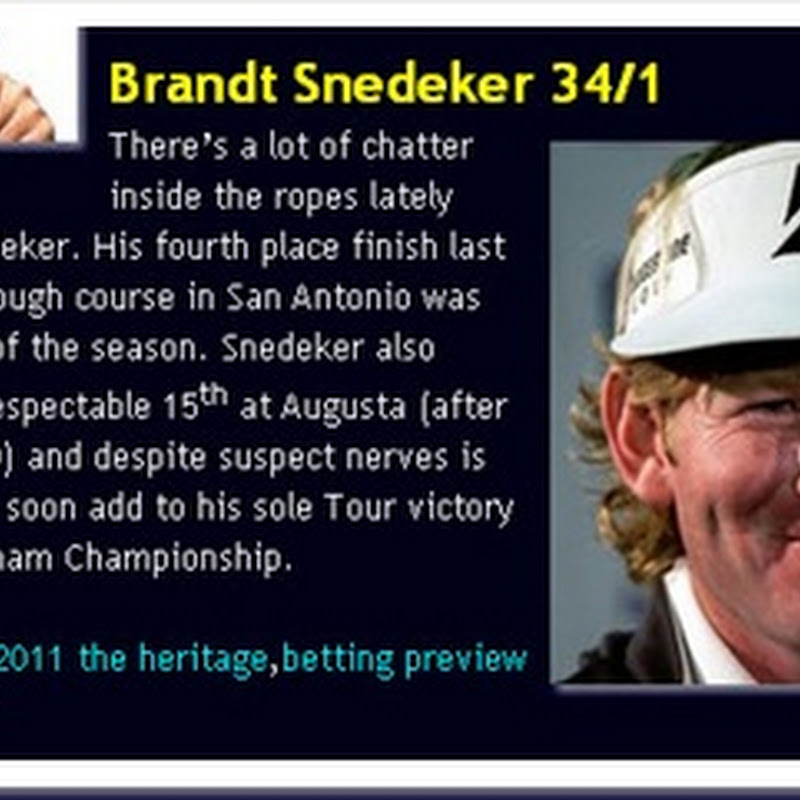 Winner Alright: Snedeker Obliges at 34/1