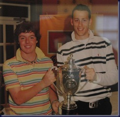 rory winning the scratch cup