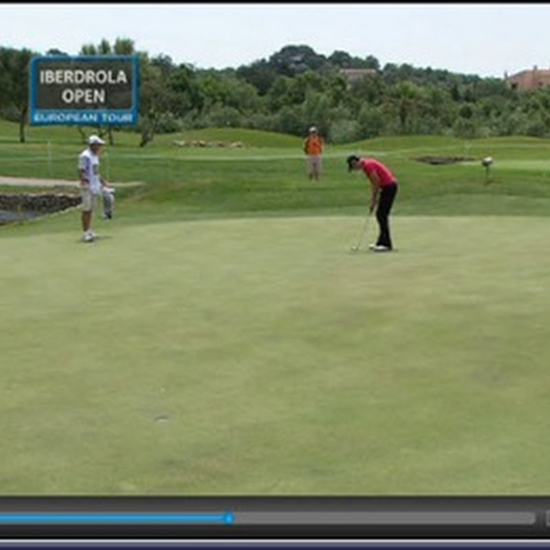 2011 Iberdola Open Second Round Highlights and Leaderboard