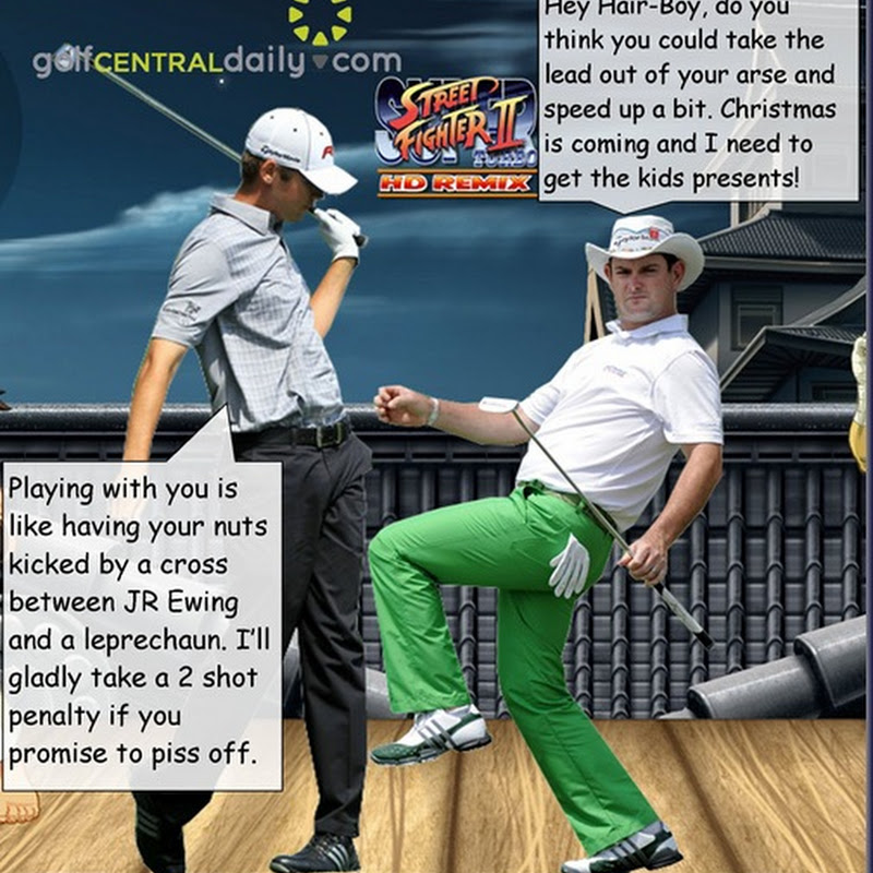 Rory Sabbatini's Fight With Sean O'Hair.  What Was Really Said