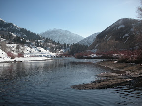 Winter Provo River