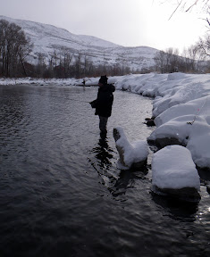 Provo River Winter