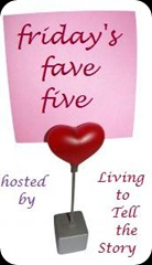 friday fave five 12