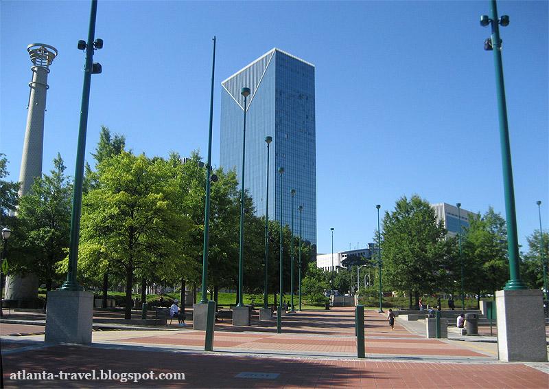 Парк Столетия Олимпийских Игр Атланта Centennial Olympic Park Atlanta
