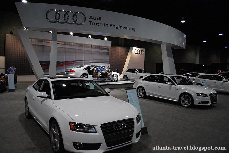 Atlanta auto show Автошоу Атланта