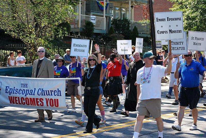 Ежегодный гей парад в Атланте