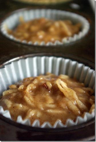 parsnip cupcake batter