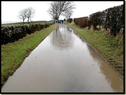 The road to Hesket Newmarket