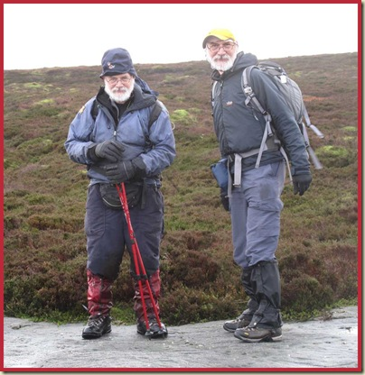 Oh dear, look at those awful gaiters!