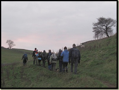 Ascending Gypsy Bank in fading light