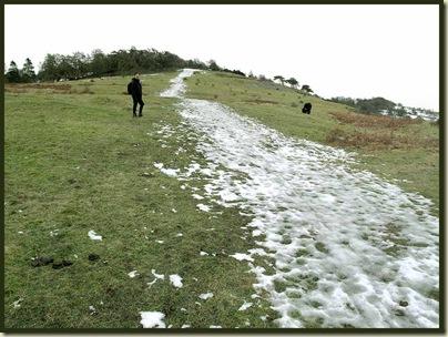 The path up Arnside Knott