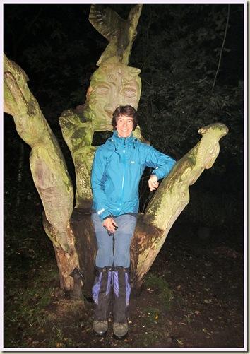 The Sculpted Chair in Little Budworth Country Park