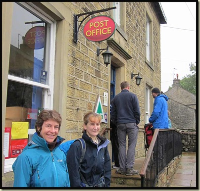 Outside Kettlewell YHA