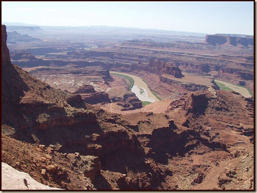 Canyonlands from near Dead Horse Point