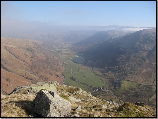 Borrowdale, from near the summit of Base Brown