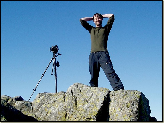 Trail Magazine's photographer, seeking out 'A Year in the life of Great Gable'