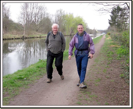 Two Johns by the Bridgewater Canal