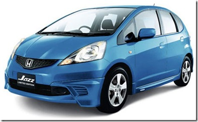 2010 honda jazz blue india