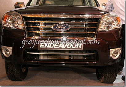 new 2010 ford endeavour