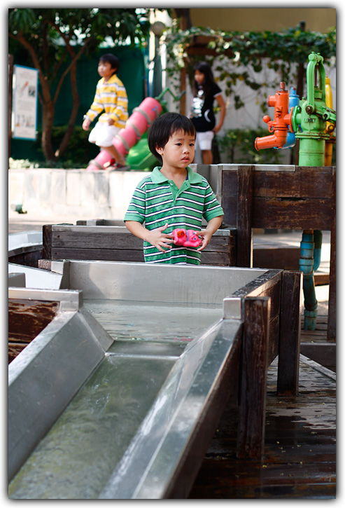 พิพิธภัณฑ์เด็ก ภาคสวนน้ำ