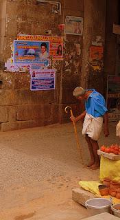 Srirangam temple periphery