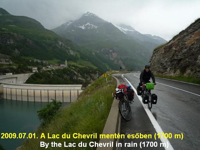 Col d'Iseran, Lac du Chevril