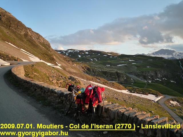 Col d'Iseran ascent & Györgyi Gábor