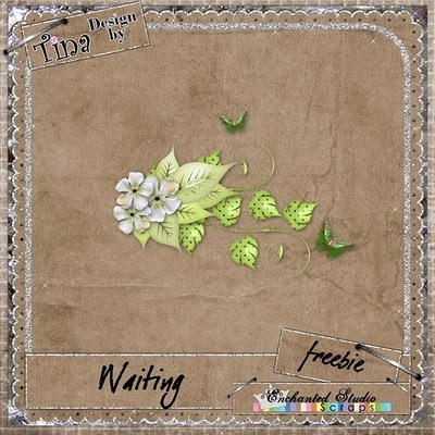 Design by Tina_Waiting_freebie_preview