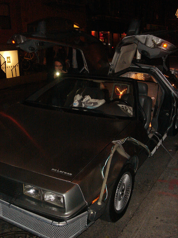 The car from Back to the Future