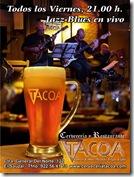 En TACOA, todos los Viernes, JAZZ-BLUES en VIVO