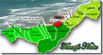 Pulsando en el mapa, podrás ver una vista satélite de Puerto de la Cruz