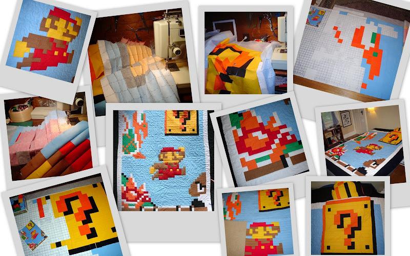 Mario quilt photos