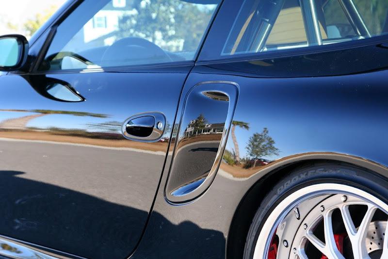 Black Porsche 996TT GuruWax