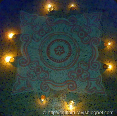 Rangoli_Red_Deepam_9