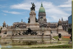 Monument to the two congresses