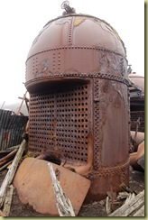 Boilers for whale oil