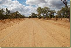 long dirt road
