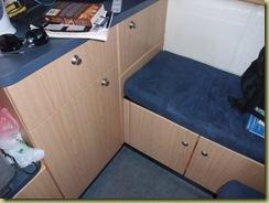 Underbench storage